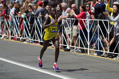 Boston Marathon, 2014. Mostly at Coolidge Corner