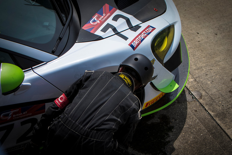Adam Mackay's McLaren British GT Racing Car