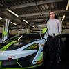 Adam Mackay's McLaren British GT Racing Car