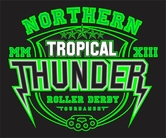 Northern Tropical Thunder 2013 - Day Two: Cairns Derby Dolls vs Tableland Roller Derby