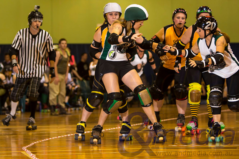 "May The Fourth Be With You: WA Roller Derby ""WARD's of the Skate"" vs Gold City Rollers - 04/05/2013: Perth"