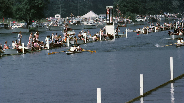 Henley 1971, ULBC in the stern, LRC in the bows
