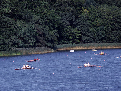 Double Sculls Final: DDR, Norway, USSR