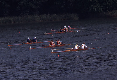 Coxed Pair Heats: DDR, Holland, ?