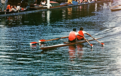 McKibbon & Van Blom v. Webb and Cooke, Final of the Double Sculls
