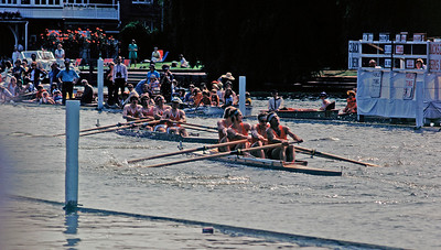 Rowing into the sun - Potomac beating Lady Margaret  1975