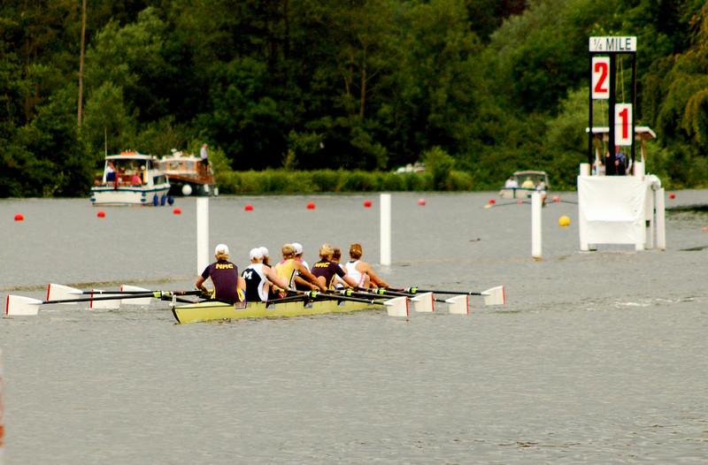 GB under-23 crew leading Oxford Brookes