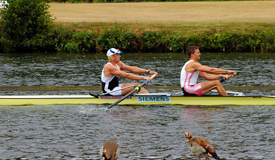 GB's No 1 Boat. Triggs-Hodge and Reed