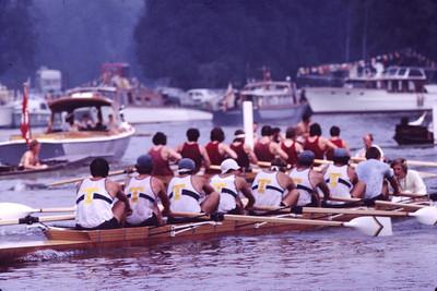 A US School crew in the PE, 1971