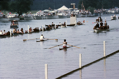 Dimiddi leading someone from London Rowing Club (David Sturge?)