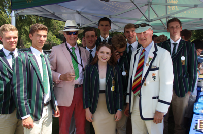 King's Chester: Friday Lunchtime on the Cricket Field