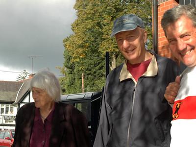 Mrs Llewellin, Bob, David Wilkes