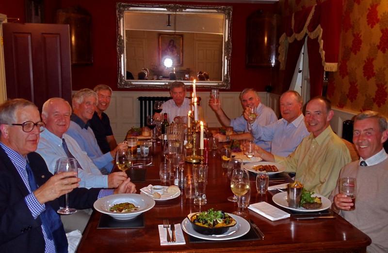 John Boyes, Jeremy Lloyd, Stewart Turner, Stephen Janisch, David Wilkes, John Payne, David Roberts, Kit Eatock, Duncan Little, John Tweed (behind camera)