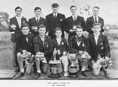 Winner at Hereford Regatta 1953