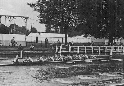 KSRC practising on the Henley course