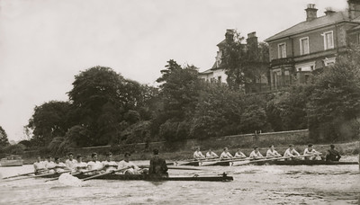 KS Head of the River VIIIs in Practice: 1953(?)
