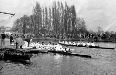 North of England Head of the River Race 1952: RCRC coxed by King's School's JL Toole, finished 1st.