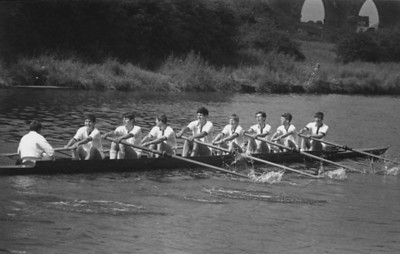 1st VIII winning Cadet VIIIs in the North-West Youth Championships held at Northwich, 1968