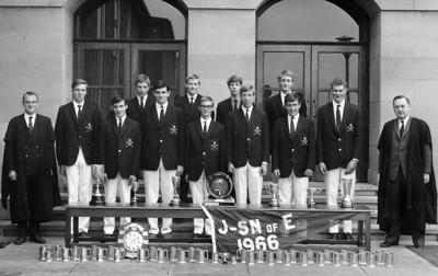 The 1966 trophy winners.