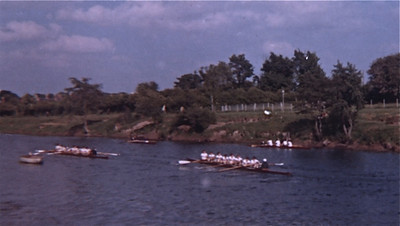 Colts' VIII at Hereford Schools Regatta 1962