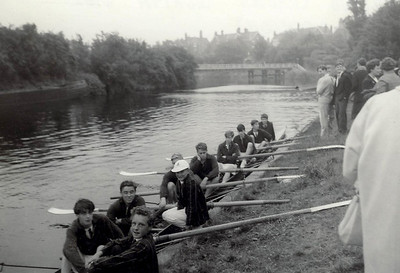 Colts' VIII at Midlands Schools Regatta. Winners of the Colts' VIII Championships
