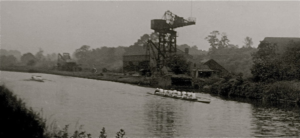 Colts' VIII at Midland Schools Regatta 1962 Northwich