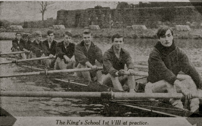 KSRC I before the Head of the River Race at Chester