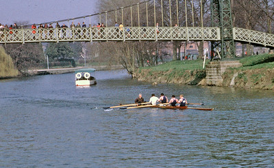 Winning the Severn Head (Shrewsbury)1970
