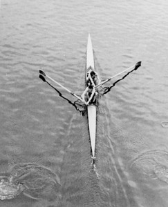 Imperial College (Wilkes) and Guys Hospital (Fenn): University of London Coxless Pairs Champions! 1970