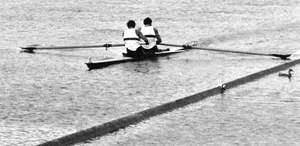 Getting too close to the booms! Henley 1970.