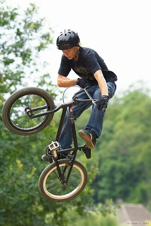 Dirtjump, Roztoky