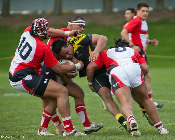 Orcas vs. Stingrays, Albert Baskerville Trophy, Fraser Park, Lower Hutt, 24 September 2011