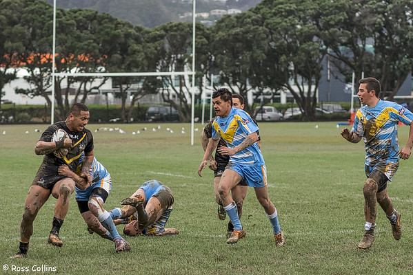 Wellington Orcas vs. Northern Swords, Petone Recreation Ground, 23 August 2014
