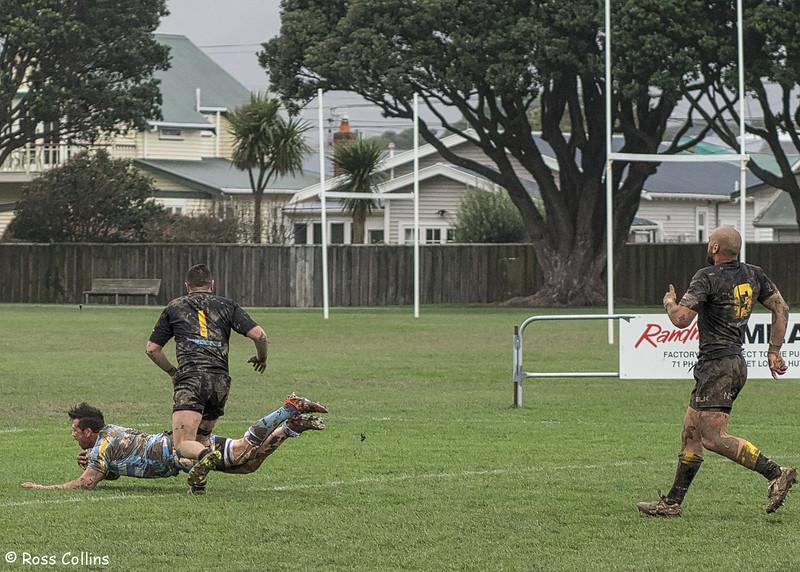 Wellington Orcas vs. Northern Swords, Petone Recreation Ground, 23 August 2014