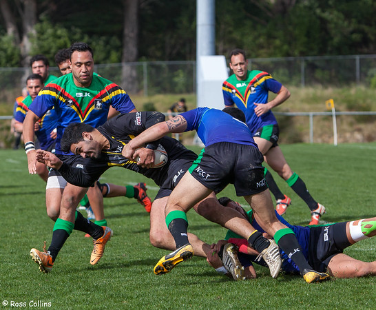 Wellington Orcas vs. Wai-Coa-Bay Stallions, Porirua Park, 6 September 2014