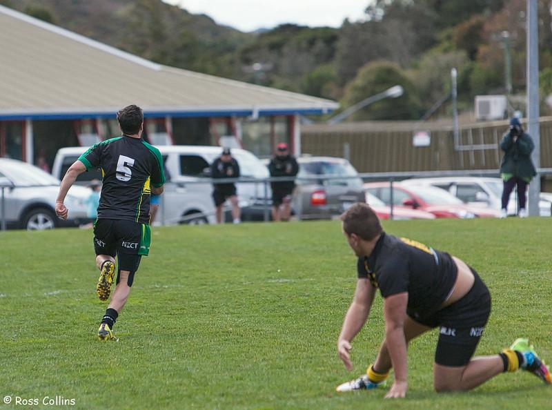 Wellington Orcas vs. Central Vipers, Porirua Park, 30 August 2014
