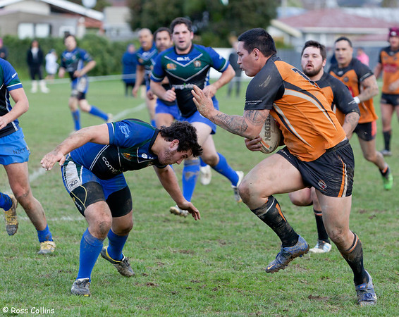 University vs. Upper Hutt, Premiers Elimination Final, Whakatiki Park, Upper Hutt, 20 July 2013