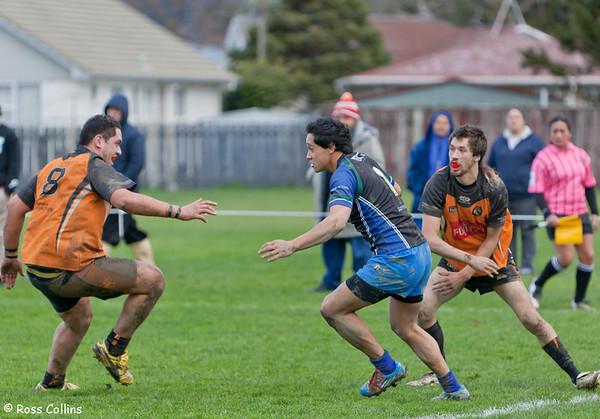 University vs. Upper Hutt, Premiers Elimination Final, Whakatiki Park, Upper Hutt, 20 July 2013