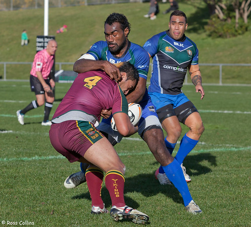 University Hunters vs. Porirua Vikings, Premiers Preliminary Final, Porirua Park, 3 August 2013