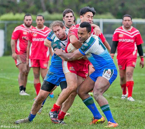 University vs. St. George, Premiers Round 14, Kelburn Park, Wellington, 13 July 2013