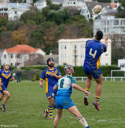 University vs. Randwick, Premiers Round 10, Kelburn Park, Wellington, 15 June 2013