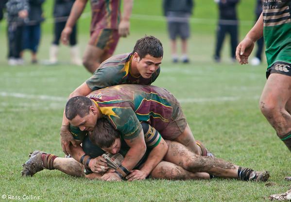 Porirua vs. Wainuiomata, Premiers Grand Final, Fraser Park, Lower Hutt, 14 August 2010