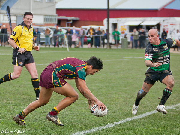 Porirua vs. Wainuiomata, Premiers Grand Final, Fraser Park, Lower Hutt, 14 August 2010