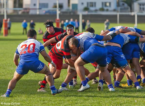 Poneke vs. Norths, Swindale Shield, Kilbirnie Park, Wellington, 14 April 2012