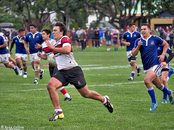 Scots College vs. St Pats Town, Scots College, 23 May 2015