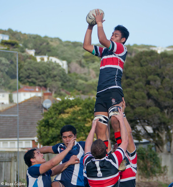 Scots College vs. Aotea College, Scots College, Wellington, 9 June 2012