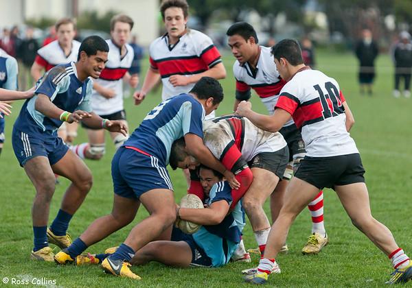 Scots College vs. Naenae College, Scots College, Wellington, 8 June 2013