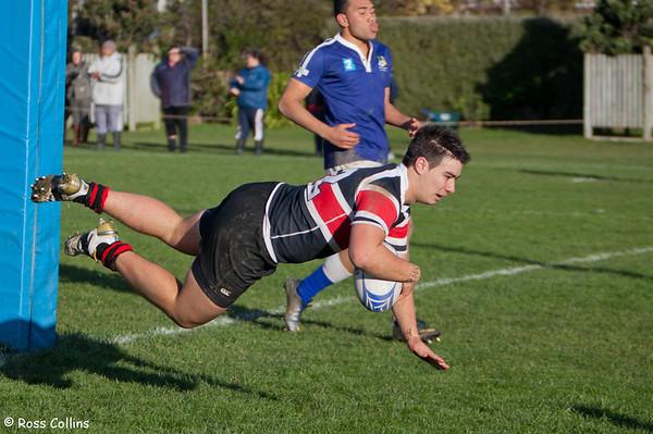 St Pats Town vs Scots College, Evans Bay Park, Wellington, 2 June 2012
