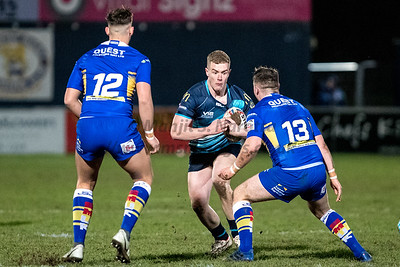 18th Jan 2019, Coventry Bears vs Leeds Rhinos, Friendly