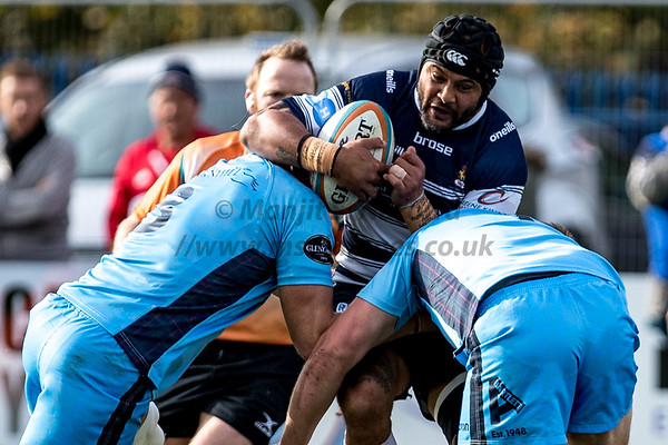 13th October 2018, Coventry Rugby vs London Scottish, Greene King IPA Championship, Butts Lane, Coventry